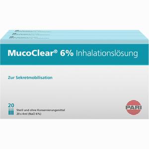 Abbildung von Mucoclear 6% Nacl Inhalationslösung  60 x 4 ml