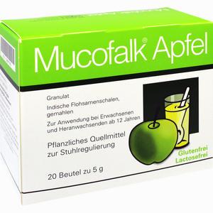 Abbildung von Mucofalk Apfel Granulat  20 Stück