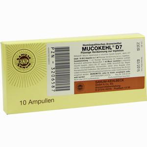 Abbildung von Mucokehl D 7 Ampullen 10 x 1 ml
