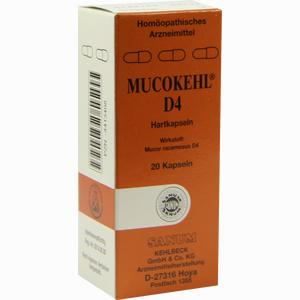 Abbildung von Mucokehl D4 Kapseln 20 Stück