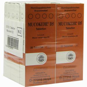 Abbildung von Mucokehl D5 Tabletten 10 x 20 Stück