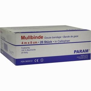 Abbildung von Mullbinde 8cm M Cell 20 Stück