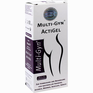 Abbildung von Multi-gyn Actigel Gel 50 ml