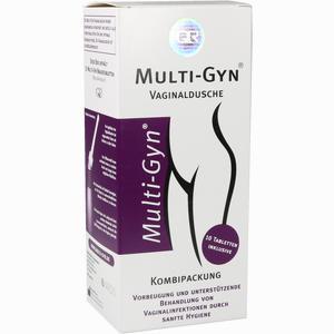 Abbildung von Multi- Gyn Vaginaldusche Kombipack Brausetabletten 1 Packung