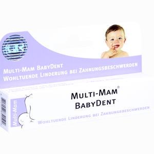 Abbildung von Multi-mam Babydent Gel 15 ml