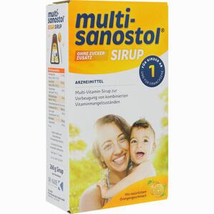 Abbildung von Multi- Sanostol Ohne Zuckerzusatz Sirup 260 g