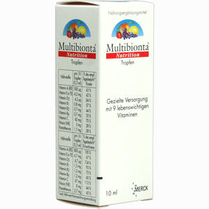 Abbildung von Multibionta Nutrition Tropfen  10 ml