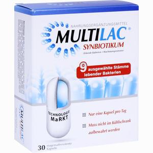 Abbildung von Multilac Synbiotikum Kapseln 30 Stück