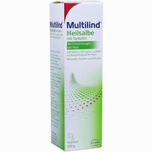 Abbildung von Multilind Heilsalbe mit Nystatin  100 g