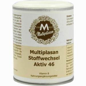 Abbildung von Multiplasan Stoffwechsel Aktiv 46 Tabletten  200 Stück
