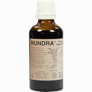 Abbildung von Mundra Pflanzliches Mundpflegeprodukt Lösung 50 ml