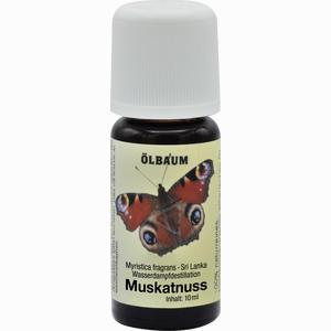Abbildung von Muskatnussöl Öl 10 ml
