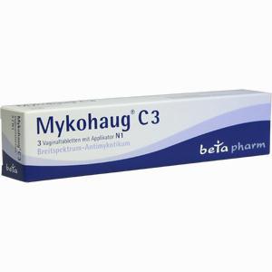 Abbildung von Mykohaug C 3 Vaginaltabletten 3 Stück