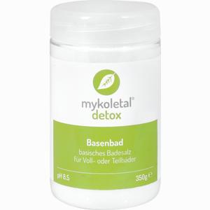 Abbildung von Mykoletal Detox Basenbad Pulver 350 g