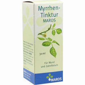 Abbildung von Myrrhentinktur Maros  30 ml