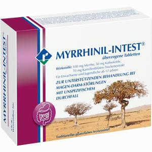 Abbildung von Myrrhinil Intest Dragees 100 Stück