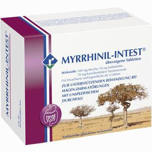 Abbildung von Myrrhinil Intest Dragees 200 Stück