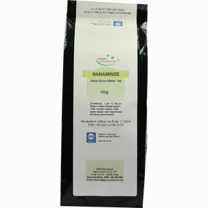 Abbildung von Nanaminze Blättertee Tee 100 g