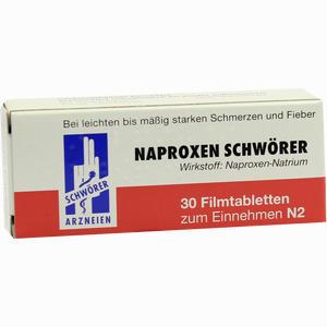 Abbildung von Naproxen Schwörer Filmtabletten 30 Stück