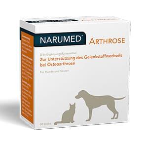 Abbildung von Narumed Arthrose Vet Pulver 30 x 1.5 g