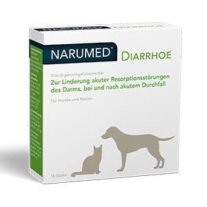 Abbildung von Narumed Diarrhoe Vet Pulver 16 x 1.6 g