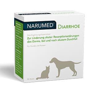 Abbildung von Narumed Diarrhoe Vet Pulver 30 x 1.6 g