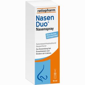 Abbildung von Nasenduo Nasenspray  10 ml