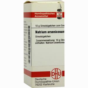 Abbildung von Natrium Arsenicosum C200 Globuli  10 g
