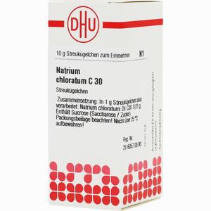 Abbildung von Natrium Chlorat C30 Globuli 10 g