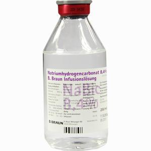 Abbildung von Natriumhydrogencarbonat 8.4% B. Braun Glas Infusionslösung 250 ml