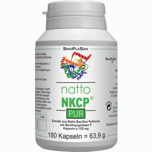 Abbildung von Natto Nkcp Pur 125 Mg Kapseln  180 Stück