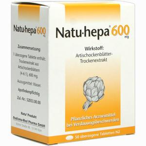 Abbildung von Natu- Hepa 600mg Tabletten 50 Stück