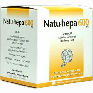 Abbildung von Natu- Hepa 600mg Tabletten 100 Stück