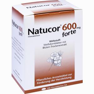 Abbildung von Natucor 600mg Forte Filmtabletten 100 Stück