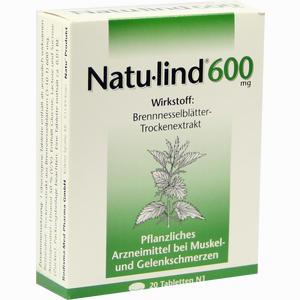 Abbildung von Natulind 600mg Tabletten 20 Stück