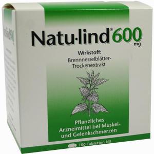 Abbildung von Natulind 600mg Tabletten 100 Stück