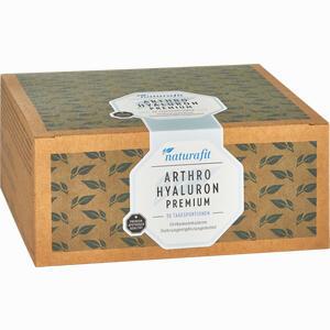 Abbildung von Naturafit Arthro Hyaluron Premium Beutel 30 Stück
