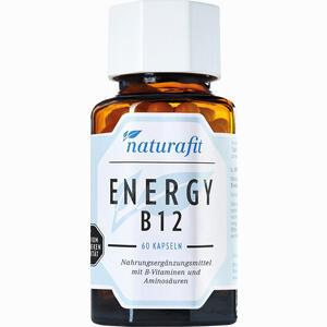 Abbildung von Naturafit Energy B12 Kapseln 60 Stück