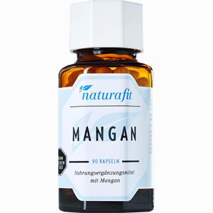 Abbildung von Naturafit Mangan Kapseln 90 Stück