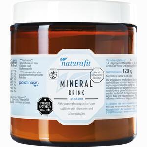 Abbildung von Naturafit Mineraldrink Granulat 120 g