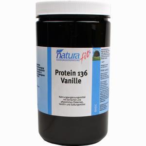 Abbildung von Naturafit Protein 136 Vanille Pulver 400 g