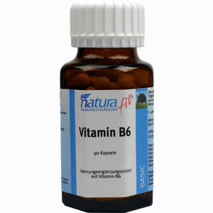 Abbildung von Naturafit Vitamin B6 Kapseln 90 Stück
