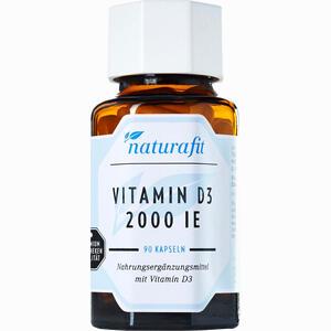 Abbildung von Naturafit Vitamin D3 2000 I.e. Kapseln 90 Stück