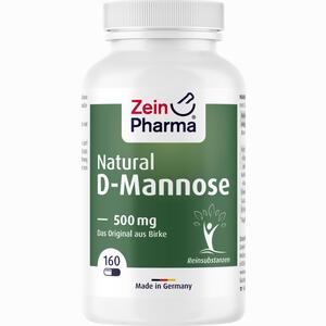 Abbildung von Natural D- Mannose 500 Mg Kapseln 160 Stück