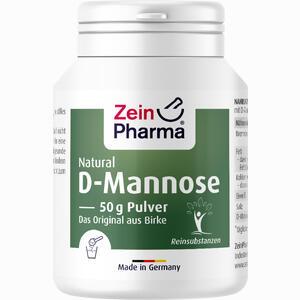 Abbildung von Natural D- Mannose Aus Birke Zeinpharma Pulver 50 g