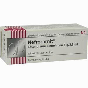 Abbildung von Nefrocarnit Sirup  50 ml