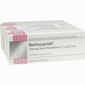 Abbildung von Nefrocarnit Sirup 150 ml