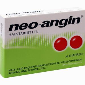 Abbildung von Neo- Angin Halstabletten Lutschtabletten 24 Stück