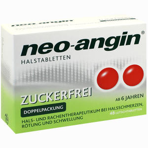 Abbildung von Neo- Angin Halstabletten zuckerfrei Lutschtabletten 48 Stück