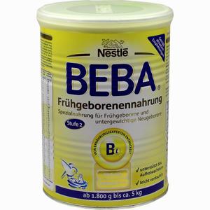 Abbildung von Nestle Beba Frühgeborenennahrung Stufe 2 Pulver 400 g